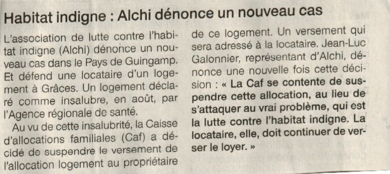 Ouest-France le 25 10 2014